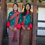 These ladies sang and danced at the Tamshing Festival