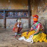 Bhutanese Masked Dancer.