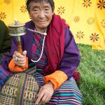 Woman of Tibetan origin at Jampeh Lakhang