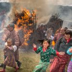 Fire Cleansing Ceremony, Thangbi Mani, Bhutan