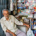 """""""Mama Store"""" Keeper, off Arab Street"""