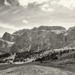 Dolomites mountain range