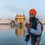 Sikh devotee at the Golden Temple, Amritsar