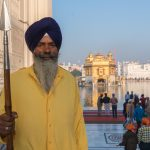 Sikh guard at the Golden Temple, Amritsar