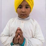 Young Sikh boy