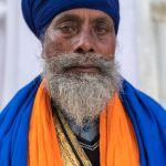 Sikh at the Hollah Mahallah Festival