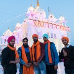 Friends visiting the Anandpur Sahib Temple