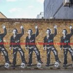 Don't Shoot, Street Art London East End.