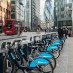 """Boris Bikes"", Liverpool Street, London"