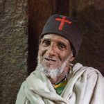 Portrait of an Ethiopian Orthodox Christian priest