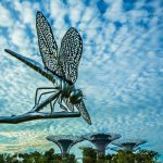 Dragonfly Sculpture, Gardens by the Bay