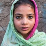 Girl from a small village in Gujarat, India