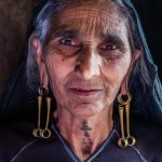 Rabari Woman, village in Gujarat, India,