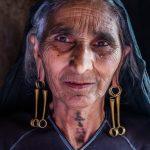 Rabari Woman, village in Gujarat, India,