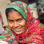 Smiley woman from Nirona Village, Gujarat