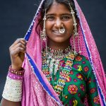 Girl  from the Dhawadar Tribe
