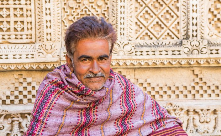 "My Indian ""George Clooney"". Shot at the Rani Ki Va Stepwell."