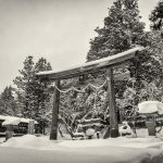 Torii gate in Togakushi, Nagano