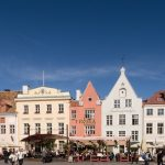Town Hall Square in the Old Town of Tallinn