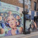 Popular wall art on Whitby Street