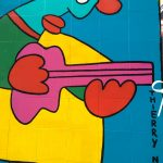 Another Thierry Noir wall art