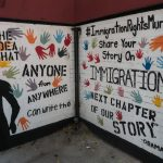 Immigration Rights Mural, East Harlem