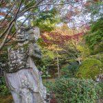 Female Nio (temple guardian) at Jingon-ji, Nakatsu