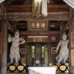 Nio (temple guardians) at Makiodo Temple