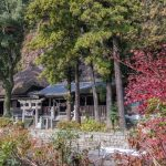 Tennen-ji Temple with a thatched roof