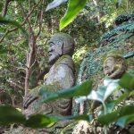 Stone Buddha statues at Monjusen-ji, Kunisaki