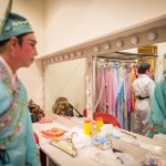 Changing room, Thau Yong Opera Troupe, Singapore