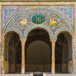 Beautiful Mosaics at Golestan Palace, Tehran