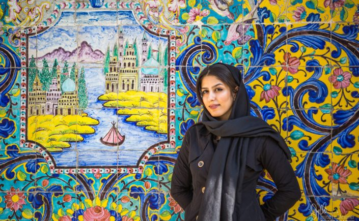 Iranian Beauty at Golestan Palace, Tehran
