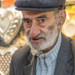 Shopkeeper at local Bazaar in Kerman