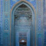 Stunning mosaics and architecture at the Jameh (Friday) Mosque in Kerman.