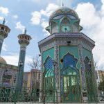 Beautiful Islamic architecture in Kerman