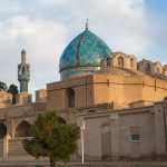 Mausoleum of Shah Nematollah-e-Vali, the great 14th century Sufi leader, in Mahan, Iran.