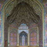 Stunning mosaics and architecture at the Nasir-ol-Molk (Pink Mosque) in Shiraz.