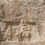 Naqsh-e-Rustam, an ancient Necropolis  of the Achaemenid Dynasty, about 12km from Persepolis in Fars Province.