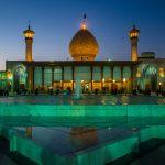 Blue Hour at The Holy Shrine of Shah-e-Cheragh in Shiraz