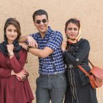 Young, modern Iranians at Yazd.