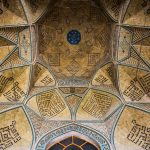 Ceiling of the Jameh (Friday) Mosque in Isfahan