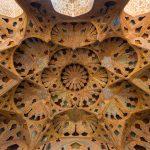 Tong Borie  plaster work at Ali Qapu Palace, Isfahan