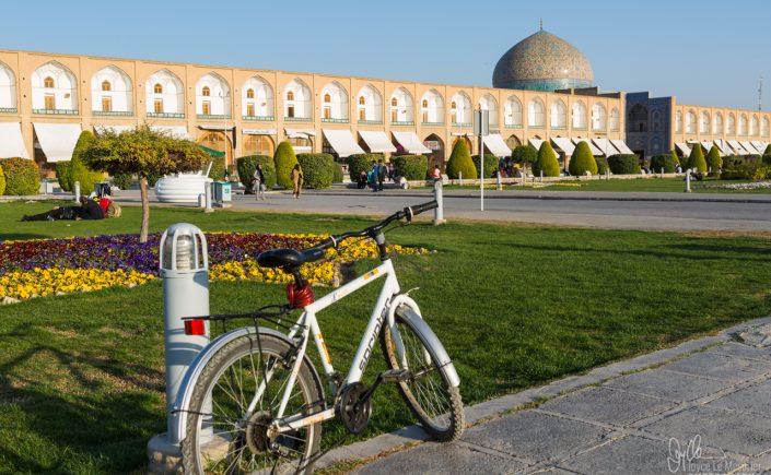 The grand square, Maidan-e-Naghsh-e-Jahan in Isfahan, Iran.