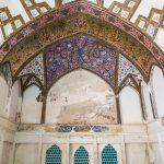 The historical Fin Garden in Kashan