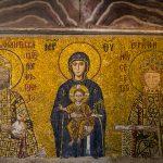 Mosaic Frescoes, Hagia Sophia