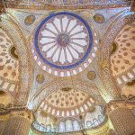 Painted Domes of the Blue Mosque