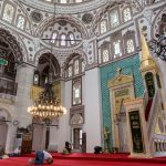 The beautiful Valide-i-Cedid Camii in Üsküdar, the Asian side of Turkey.