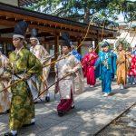 Archery Festival at the Yasakuni Shrine, Tokyo. Oct 2015
