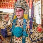 Chinese Opera Performer, Lao Sai Tao Yuen Opera troupe